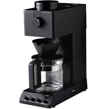 【即納】 【最大600円OFFクーポン配布中】 ツインバード 全自動コーヒーメーカー 6杯分 6杯分 ブラック ブラック CM-D465B, ハクバムラ:d39f8b3d --- salsathekas.de