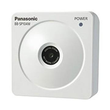 【新品】 HDネットワークカメラ(屋内・無線/有線LAN) Panasonic BB-SP104W-カメラ