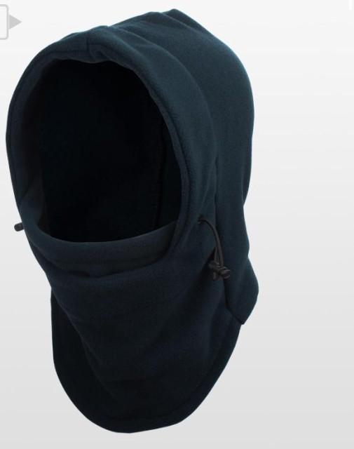 マスク 防寒フリースマスク 防寒 帽子 フリー フェイスマスク ネックウォーマー フリース素材フード付き防塞フェイス・ネックウォーマー