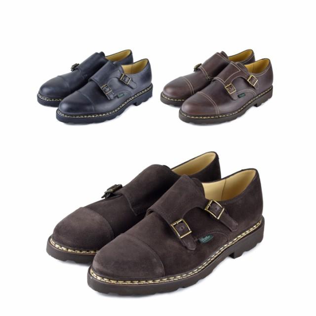 人気 PARABOOT パラブーツ WILLIAM Shoes ウィリアム ダブルモンクレザーシューズ メンズ 革靴, MASON and DIXON fa6e50ff