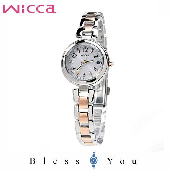 高品質 CITIZEN wicca シチズン ソーラー電波 腕時計 レディース ウィッカ 2020年2月発売 KS1-538-11 37,0, ロール紙ラベルの中川ダイレクト 63e91ec4