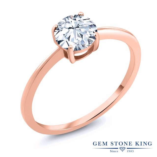 値段が激安 指輪 リング レディース ジルコニア (無色透明) 10金 ピンクゴールド(K10) 一粒 CZ 大粒 シンプル 細身 ソリティア 婚約指輪 エンゲージ, Miotto Line (ミュオットライン) 8fca0edf