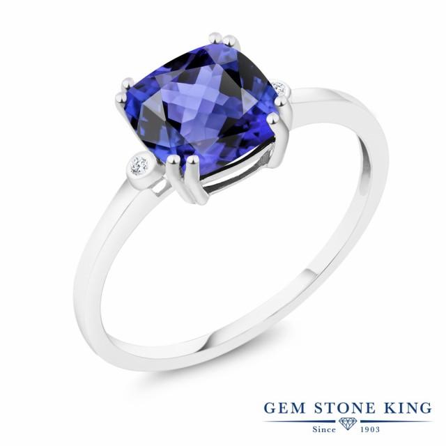 素晴らしい価格 指輪 リング レディース 2.7カラット 天然石 タンザナイト 天然石 天然 2.7カラット ダイヤモンド リング 10金 ホワイトゴールド(K10) スクエア 大粒 ソリティア 12, ドリームリアライズ:0a4ca0af --- chevron9.de