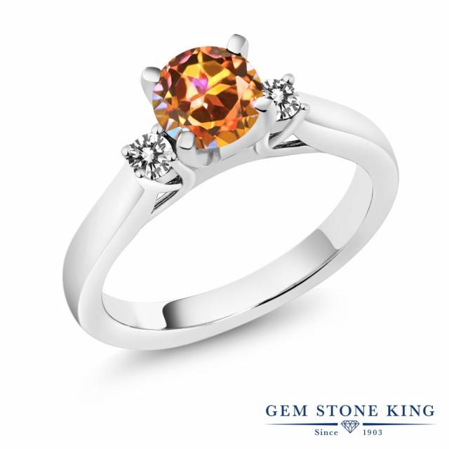 大きな割引 指輪 リング 1.2カラット レディース 1.2カラット 天然石 エクスタシーミスティックトパーズ 大粒 天然 ダイヤモンド 指輪 シルバー925 スリーストーン 大粒 婚, ちぼりスイーツファクトリー:febca3c9 --- kzdic.de