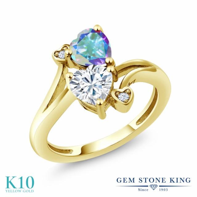 最高品質の 指輪 リング レディース 1.78カラット Forever & Brilliant 天然石 モアサナイト Charles 1.78カラット & Colvard 天然石 ミスティックトパーズ (マーキュリーミ, ネットサプライ:9d84b7ac --- chevron9.de