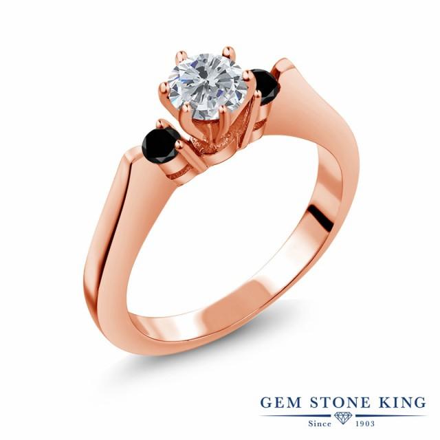 【激安大特価!】  ダイヤモンド ピンクゴールドコーティング シルバー925 指輪 天然石 ダイヤ レディース 天然 リング 0.63カラット 小粒 スリーストーン 4-指輪・リング