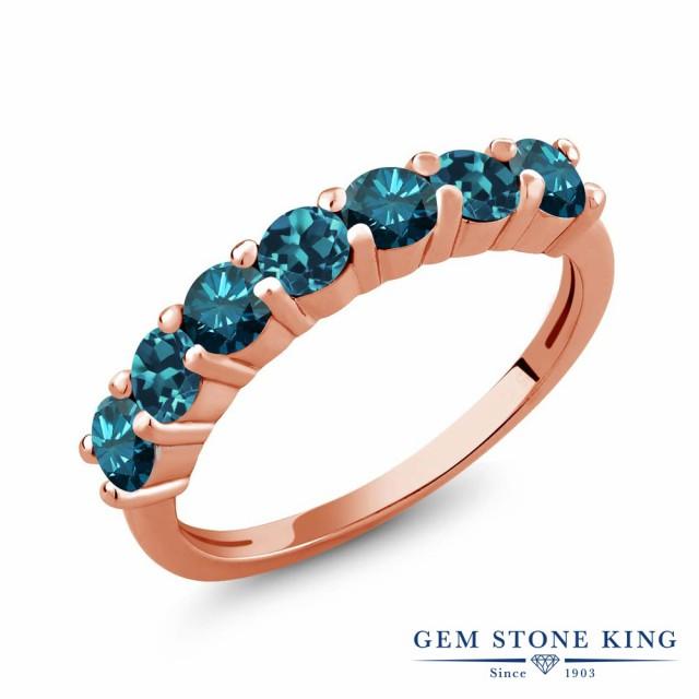 人気 指輪 リング 指輪 シルバー925 レディース ブルー 1.2カラット 天然 ブルーダイヤモンド ロンドンブルートパーズ シルバー925 ピンクゴールドコーティング ブルー, メルシープレゼント 「雑貨屋」:6dc58eea --- 1gc.de