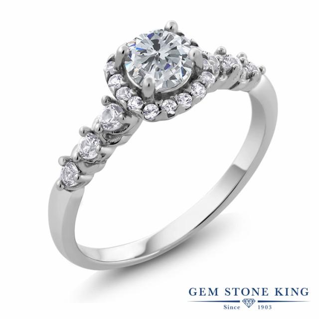人気デザイナー 指輪 リング レディース 4月 0.92カラット 天然 ダイヤモンド 0.92カラット トパーズ (無色透明) シルバー925 リング ダイヤ 小粒 ヘイロー 天然石 4月 誕生石 プ, L.K&Shop:a6b7a57a --- chevron9.de