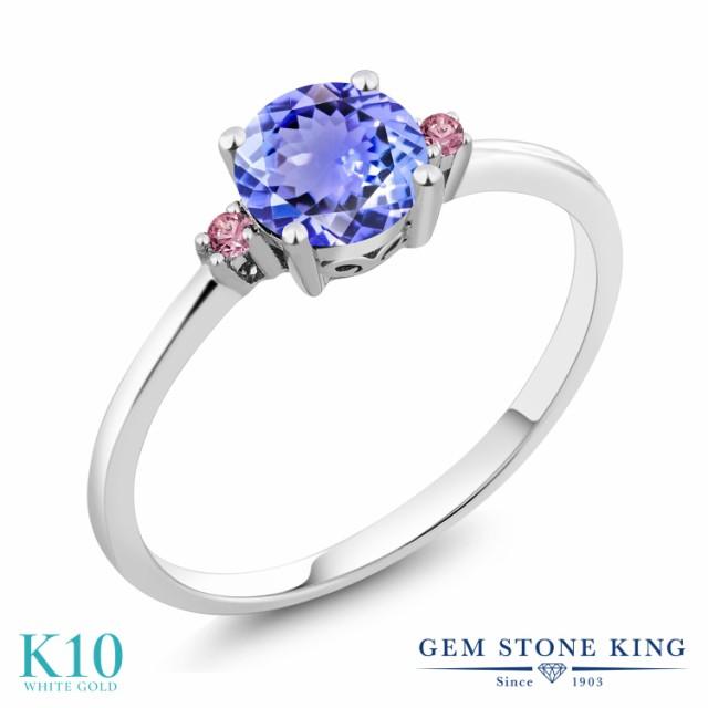 大特価放出! 指輪 リング レディース レディース 0.93カラット リング 天然石 タンザナイト 合成ピンクダイヤモンド 10金 指輪 ホワイトゴールド(K10) 細身 ソリティア 12月, キタマツウラグン:06f93c04 --- kzdic.de