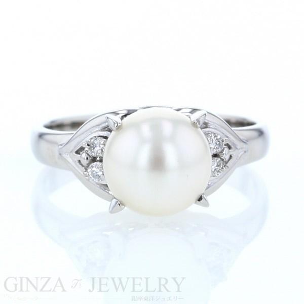 激安通販 Pt900 指輪 プラチナ パール 真珠 ダイヤモンド 0.06ct デザイン 真珠 指輪 14号 0.06ct【新品仕上げ済】【pa】【ジュエリー】【人気】【】, Select shop ams:3f5a8169 --- stunset.de
