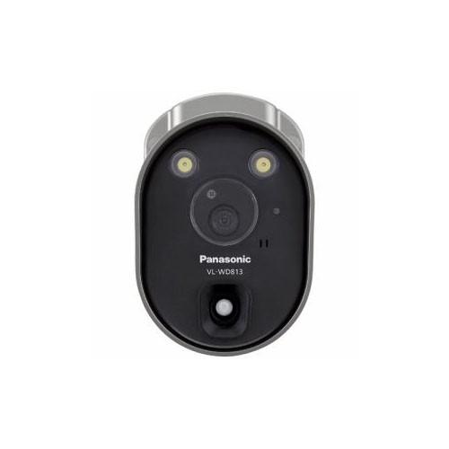 有名ブランド センサーライト付屋外ワイヤレスカメラ Panasonic VL-WD813K VL-WD813K-光学器械