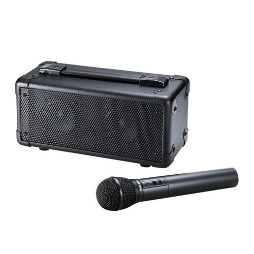【超ポイントバック祭】 サンワサプライ ワイヤレスマイク付き拡声器スピーカー MM-SPAMP4, アサクチグン 512bd0cc