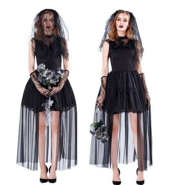 ハロウィン 衣装 ハロウィンコスプレ コスプレ コスチューム 仮装 ホラー レディースゾンビ幽霊 花嫁 y520