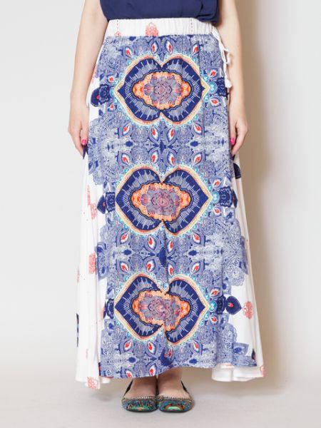 チャイハネ 公式 《レイリンスカート》 エスニック アジアン ファッション スカート IAC-9233
