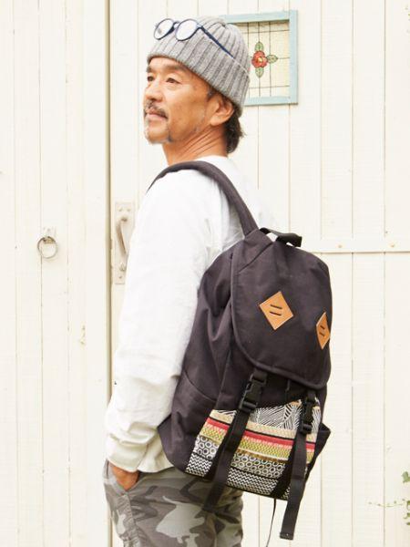 チャイハネ 公式 《オラティブリュック》 エスニック アジアン ファッション雑貨 バッグ/リュック IAKP0111