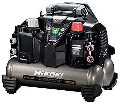 【ラッピング不可】 HiKOKI(ハイコーキ) 旧日立工機 釘打機用エアコンプレッサ タンク容量8L (品), 北村山郡 96336a48
