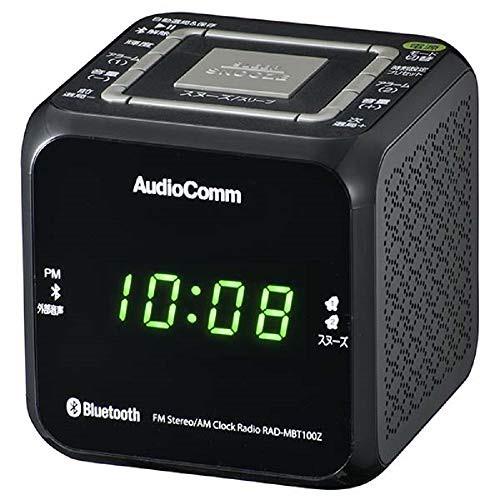 オーム電機 Bluetooth クロックラジオ RAD-MBT100Z-K(良品)