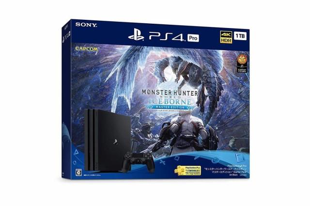 """(訳ありセール 格安) PlayStation 4 Pro """"モンスターハンターワールド: アイスボーンマスターエディション Starter Pack, SELECT 24 db36b7ee"""