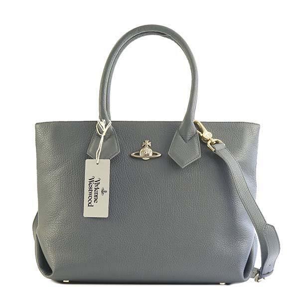 名作 ヴィヴィアン・ウエストウッド VIVIENNE WESTWOOD / SHOPPING BAG ハンドバッグ #42050011 40212 P401 GREY, フーラストア 844d761a
