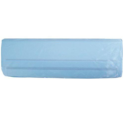 PURE-O エアコンカバー 室内用 洗える 防湿 防塵 ブルー(L 90 * 21 * 35cm)