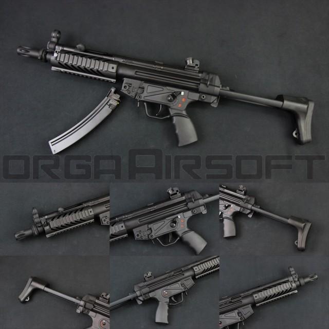 ベストセラー SRC SR5 CO2ガスブロ(COB-410TM) TAC CO2GBB(対象年齢18歳以上) A3 MP5 MP5-模型・プラモデル