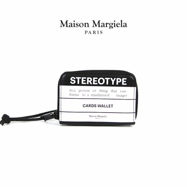 最新情報 MAISON MARGIELA/ コインケース MAISON BLACK メゾンマルジェラ ミニ財布 CARD WALLET STEREOTYPE ステレオタイプ(H1532/ BLACK WHITE)【S55UI01, イサワグン:ecdfd180 --- kzdic.de