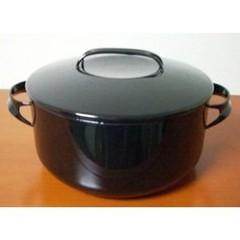 品質は非常に良い 琺瑯ノマクキャセロール24cmNOM-24TBKブラック CD:475095, 青い鳥ハンドメイド&セレクト雑貨 cb19ebcd