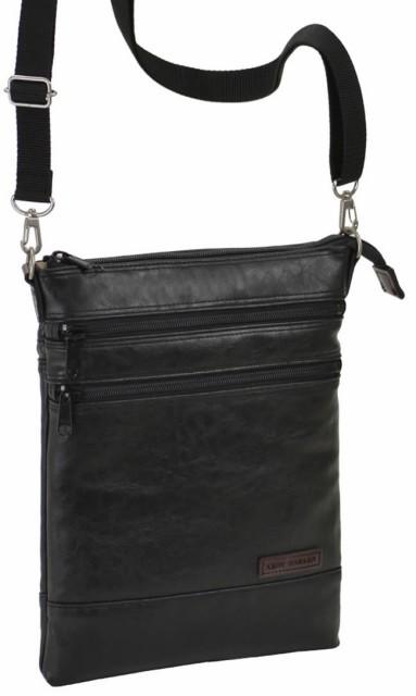 ショルダーバッグ メンズ 斜めがけ 日本製 豊岡製鞄 豊岡 かばん ミニショルダー 薄マチ 薄型 10インチタブレット対応 タブレットケース
