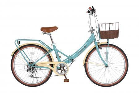 海外最新 エスコ(ESCO) 24インチ 折畳み式自転車(グレイブルー) EA986Y-26, わいわいカンパニー ec9c4fc8