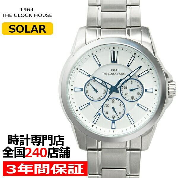 最適な価格 ザ・クロックハウス MBC1006-SI1A ビジネスカジュアル メンズ 腕時計 ソーラー ステンレス シルバー, 本匠村 6fb0ff34