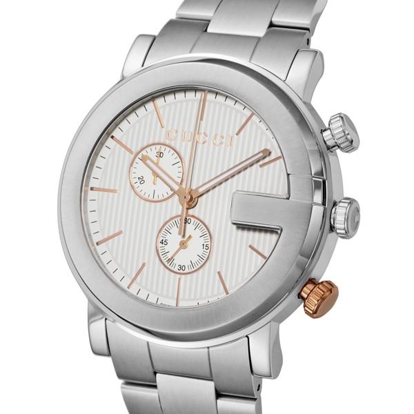 【国産】 グッチ GUCCI メンズ Gクロノ クオーツ メンズ 腕時計 腕時計 YA101360 クオーツ ホワイト【送料無料】, フォーシーズンズ:990232d5 --- standleitung-vdsl-feste-ip.de