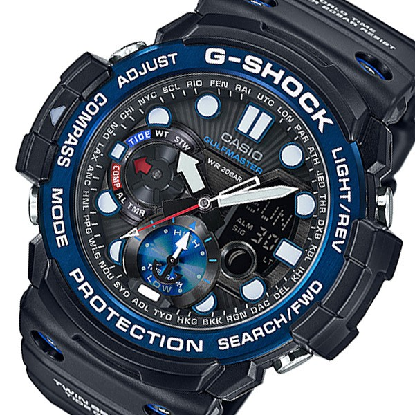 【在庫あり/即出荷可】 カシオ Gショック ガルフマスター メンズ 腕時計 時計 GN-1000B-1AJF ブラック 国内正規, ピヨママ倶楽部 e8f93fe0