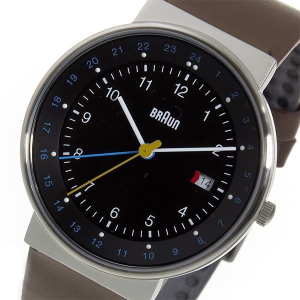大勧め ブラウン BRAUN クオーツ メンズ 腕時計 時計 BN0142BKBRG ブラック, ベーグルワン 0fd11911