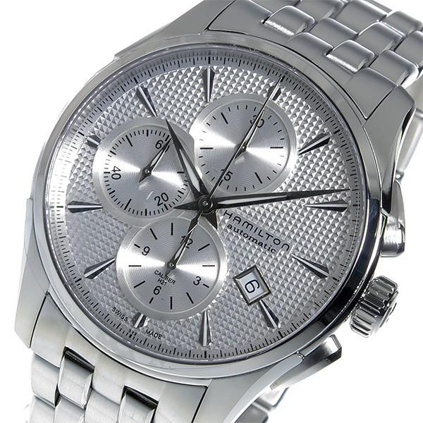 【ファッション通販】 ハミルトン ジャズマスター クロノ 自動巻き メンズ 腕時計 H32596151 シルバー【送料無料】, 南秋田郡 f4523ed4