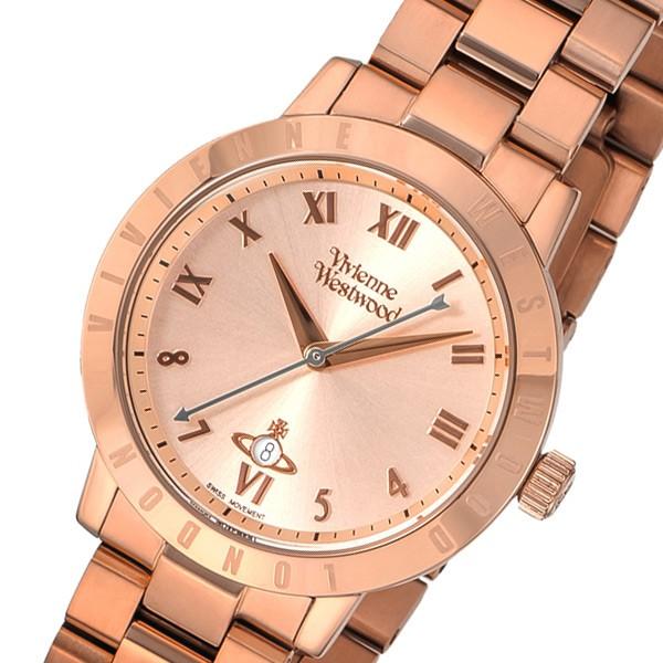 【おすすめ】 ヴィヴィアン ウエストウッド クオーツ レディース 腕時計 VV152RSRS ローズ【送料無料】, 大桑村 f8b94134