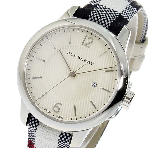 最高級のスーパー バーバリー シルバー【送料無料】 腕時計 レディース BURBERRY クオーツ BU10103-その他腕時計