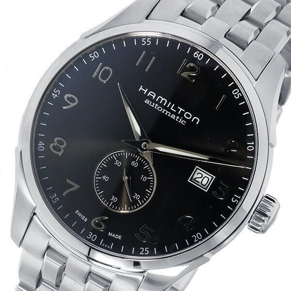 【2018?新作】 ハミルトン HAMILTON ジャズマスター マエストロ 自動巻き メンズ 腕時計 H42515135 ブラック【送料無料】, 南富良野町 c7c9f2ef