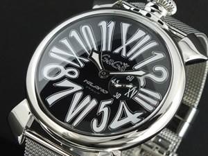 【超ポイント祭?期間限定】 ガガミラノ GAGA MILANO SLIM 腕時計 5080-2【送料無料】, 手芸のらんでぃ 9ef7098d