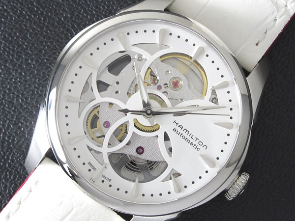 感謝の声続々! ハミルトン HAMILTON ジャズマスター ビューマチック スケルトン 腕時計 H32405811【送料無料】, Leimeria 2dae47df