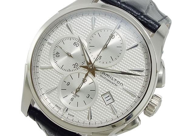 【超ポイントバック祭】 ハミルトン HAMILTON ジャズマスター 自動巻き クロノグラフ 腕時計 H32596751 (き)【送料無料】, 肌触りがいい f2304b7b