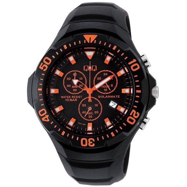 ファッション 【CITIZEN】シチズン Q&Q ソーラー電源 メンズ腕時計H034-005 SOLARMATE (ソーラーメイト) /10点入り(き)【送料無料】, 手数料安い bcbda924