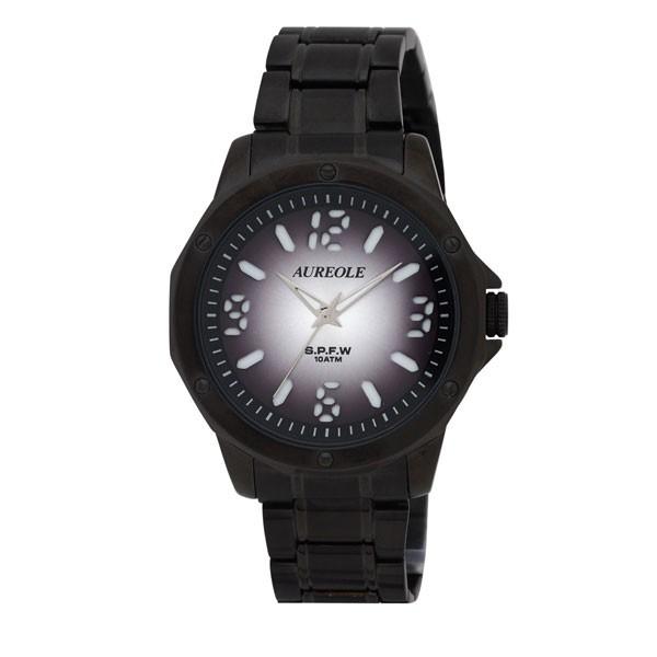 入荷中 10気圧防水 SW-571M-8 /10点入り(き)【送料無料】 【AUREOLE】オレオール アナログ表示 メンズ腕時計-その他腕時計