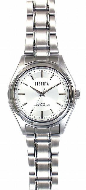 爆買い! 【LIBERTA メンズ腕時計】リベルタ メンズ腕時計 LI-032M-WH 10気圧防水(日本製)/5点入り(き)【送料無料】, ユバラチョウ:adf8f6dc --- 1gc.de