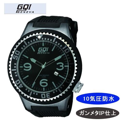 再再販! 【GQI GENEVA】 ジェネバ メンズ腕時計 GQ-106 アナログ表示 10気圧防水 /5点入り(き)【送料無料】, ミキチョウ ddfa2f72