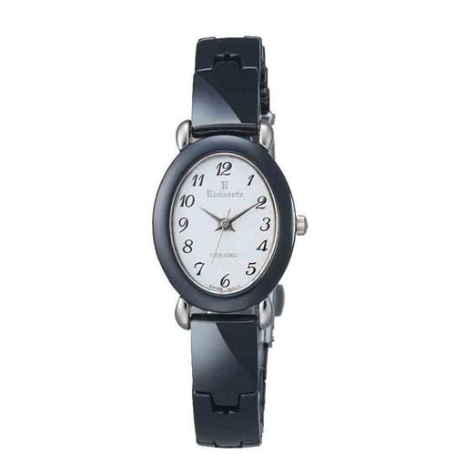 好きに 日常生活用防水 【ROMANETTE】ロマネッティ /1点入り(き)【送料無料】 レディース腕時計RE-3512L-3 アナログ表示 K18リューズ-その他腕時計