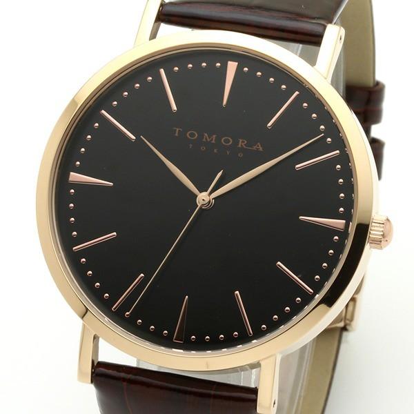 2019公式店舗 TOMORA T-1601-PBKBR TOKYO(トモラトウキョウ) 日本製 腕時計-その他腕時計