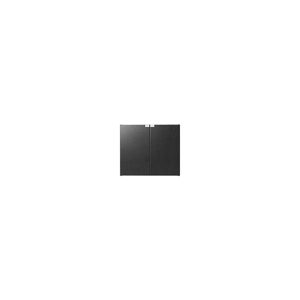 予約販売 ブラック ユニットキャビネット適用木扉 S1107・S124U用 オーエス U-H3W()【送料無料】-PCアクセサリ・サプライ