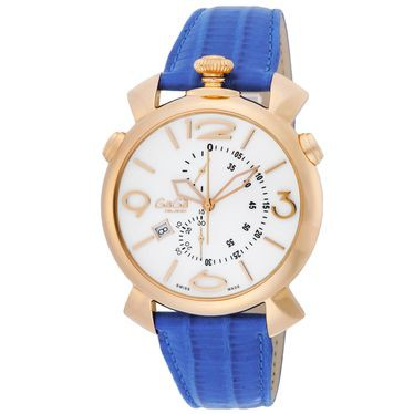 宅配 GAGA ガガ ミラノ THIN CHRONO 46MM 5098.01BT 腕時計 メンズ【送料無料】, ユーロキッチンかさい dba380ab