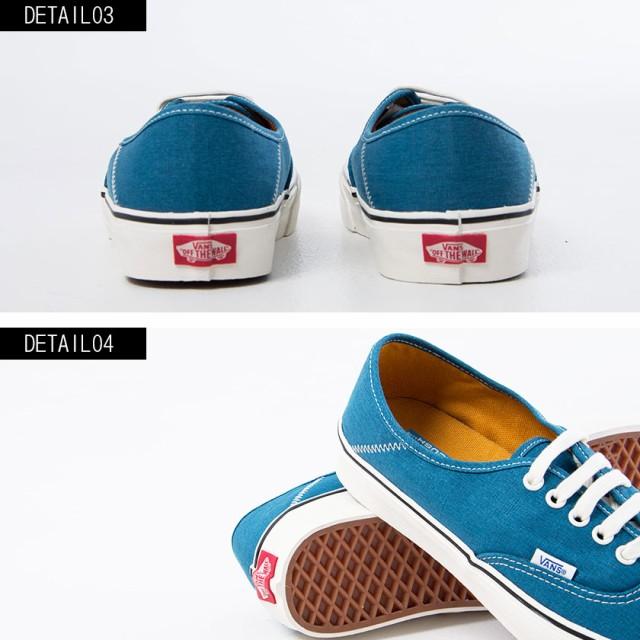 31adacabcd6009 VANS バンズ Authentic Sf Salt Wash Corsair Marshmallow スニーカー メンズ 靴 シューズ  オーセンティック ヴァンズ