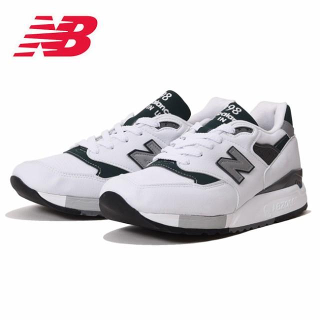 5b11ac4bdac4b ニューバランス new balance スニーカー M998JWG WHITE/GREEN メンズ レディース 日本正規品 【靴】